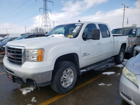 2009 GMC Sierra 2500HD for sale at Cj king of car loans/JJ's Best Auto Sales in Troy MI