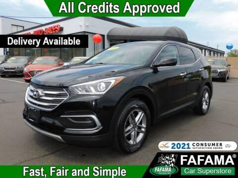 2018 Hyundai Santa Fe Sport for sale at FAFAMA AUTO SALES Inc in Milford MA