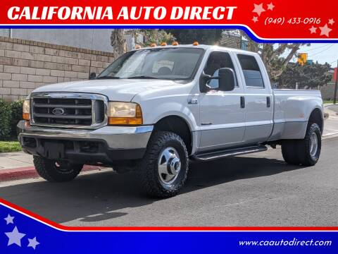 2000 Ford F-350 Super Duty for sale at CALIFORNIA AUTO DIRECT in Costa Mesa CA