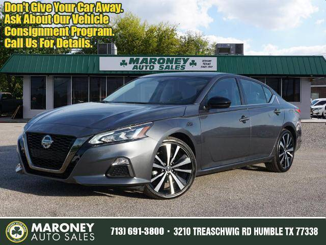 2020 Nissan Altima for sale at Maroney Auto Sales in Humble TX
