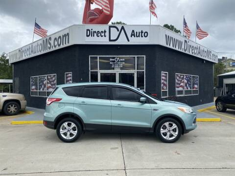 2013 Ford Escape for sale at Direct Auto in D'Iberville MS