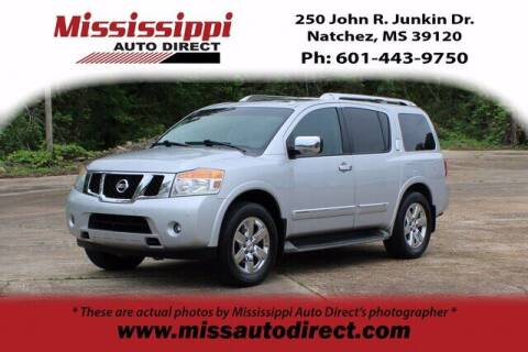 2012 Nissan Armada for sale at Auto Group South - Mississippi Auto Direct in Natchez MS