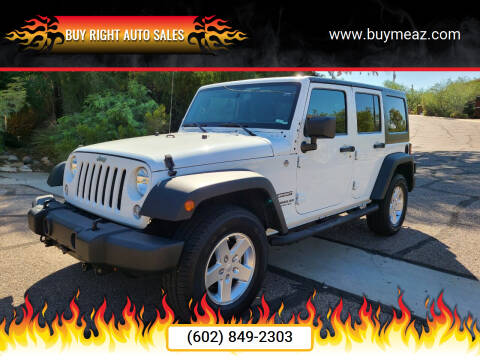 2014 Jeep Wrangler Unlimited for sale at BUY RIGHT AUTO SALES 2 in Phoenix AZ