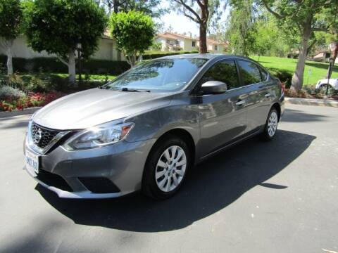 2017 Nissan Sentra for sale at E MOTORCARS in Fullerton CA