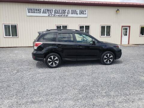 2018 Subaru Forester for sale at White Auto Sales Inc in Summersville WV