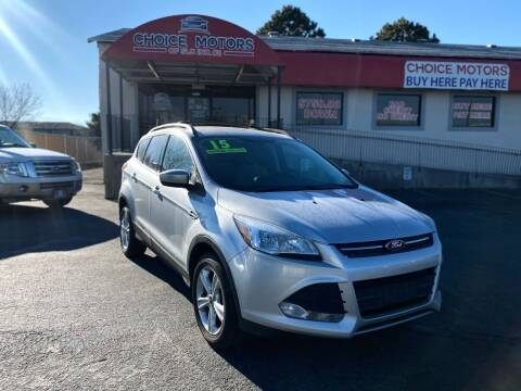 2015 Ford Escape for sale at Choice Motors of Salt Lake City in West Valley  City UT