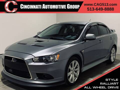2014 Mitsubishi Lancer for sale at Cincinnati Automotive Group in Lebanon OH