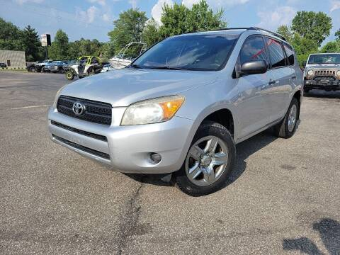 2007 Toyota RAV4 for sale at Cruisin' Auto Sales in Madison IN