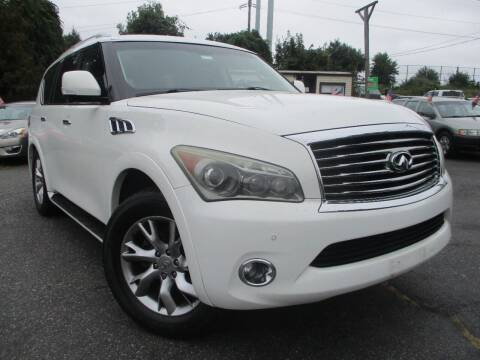 2012 Infiniti QX56 for sale at Unlimited Auto Sales Inc. in Mount Sinai NY