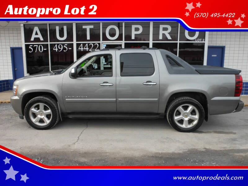 2008 Chevrolet Avalanche for sale at Autopro Lot 2 in Sunbury PA