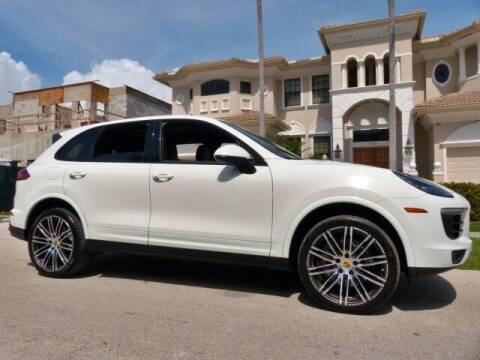 2017 Porsche Cayenne for sale at Lifetime Automotive Group in Pompano Beach FL