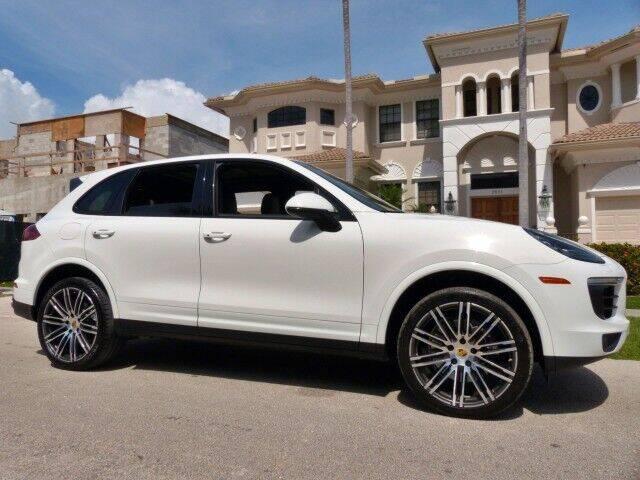 2017 Porsche Cayenne for sale at Lifetime Automotive Group in Pompano Beach FL