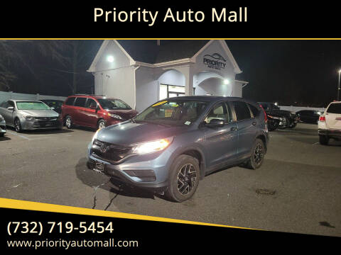 2016 Honda CR-V for sale at Priority Auto Mall in Lakewood NJ
