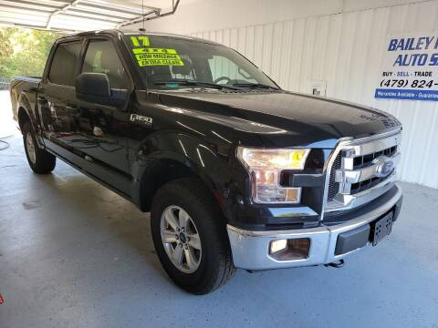 2017 Ford F-150 for sale at Bailey Family Auto Sales in Lincoln AR