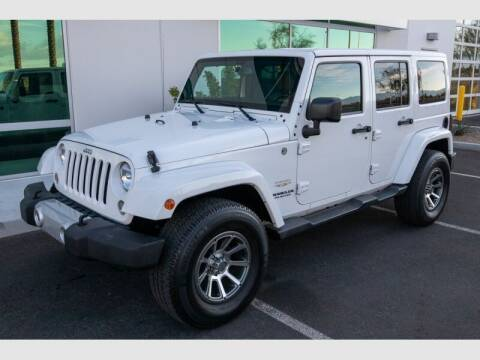 2015 Jeep Wrangler Unlimited for sale at REVEURO in Las Vegas NV