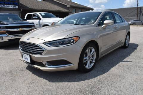 2018 Ford Fusion Hybrid for sale at IMD Motors in Richardson TX