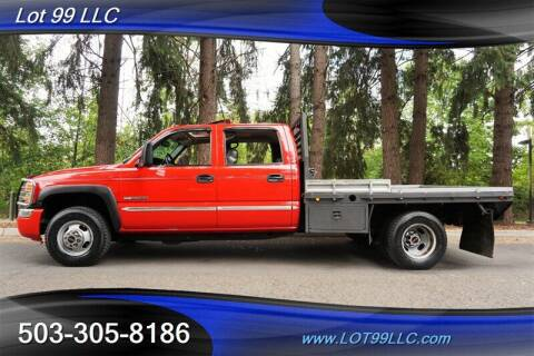 2007 GMC Sierra 3500 Classic for sale at LOT 99 LLC in Milwaukie OR