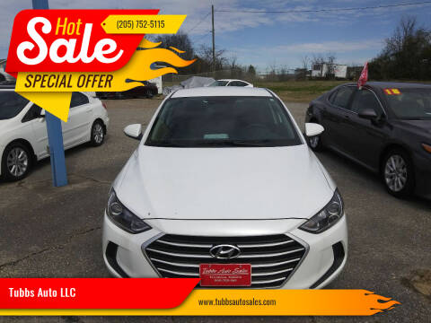 2018 Hyundai Elantra for sale at Tubbs Auto LLC in Tuscaloosa AL