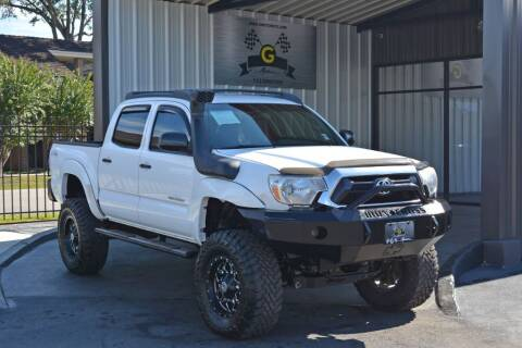 2015 Toyota Tacoma for sale at G MOTORS in Houston TX