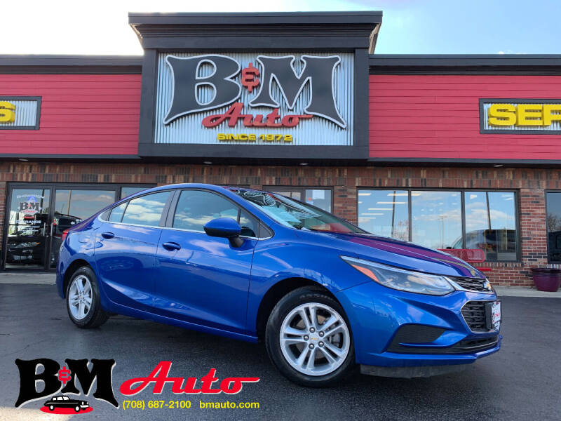 2018 Chevrolet Cruze for sale at B & M Auto Sales Inc. in Oak Forest IL