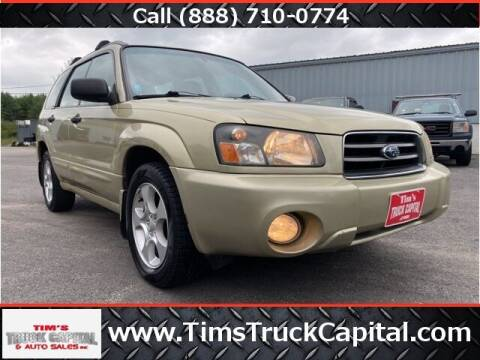 2003 Subaru Forester for sale at TTC AUTO OUTLET/TIM'S TRUCK CAPITAL & AUTO SALES INC ANNEX in Epsom NH