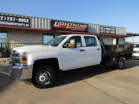 2018 Chevrolet Silverado 3500HD for sale at Lightning Motorsports in Grand Prairie TX