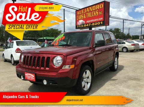 2014 Jeep Patriot for sale at Alejandro Cars & Trucks in Houston TX