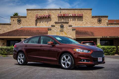 2016 Ford Fusion for sale at Jerrys Auto Sales in San Benito TX