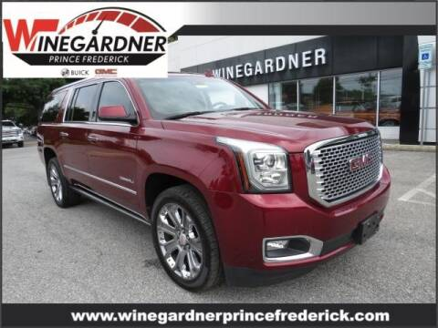 2017 GMC Yukon XL for sale at Winegardner Auto Sales in Prince Frederick MD