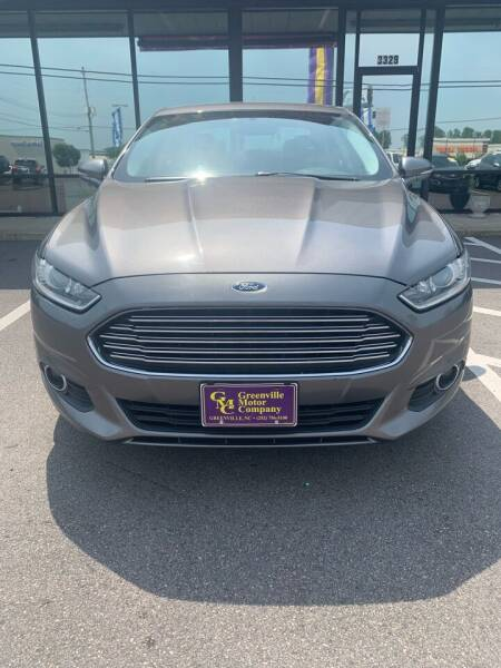 2014 Ford Fusion for sale at East Carolina Auto Exchange in Greenville NC