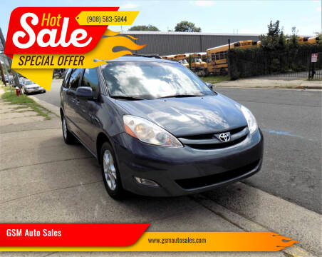 2006 Toyota Sienna for sale at GSM Auto Sales in Linden NJ