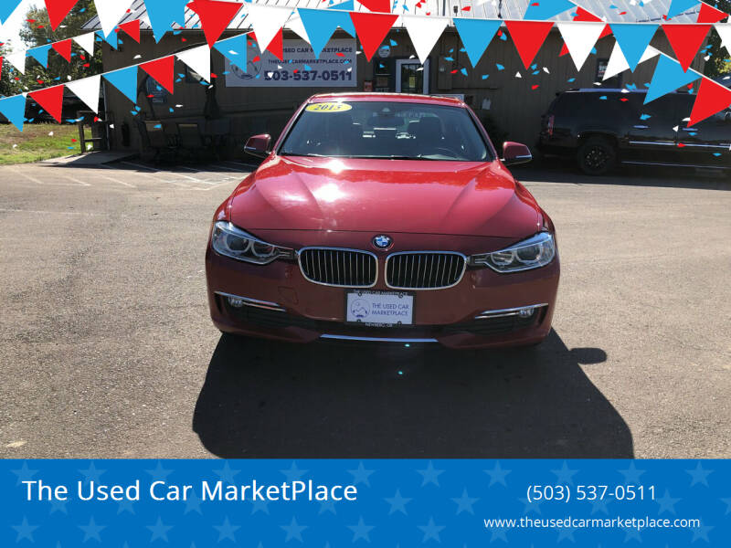 2015 BMW 3 Series for sale at The Used Car MarketPlace in Newberg OR