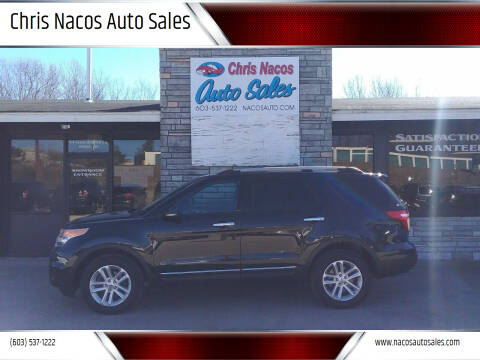 2013 Ford Explorer for sale at Chris Nacos Auto Sales in Derry NH