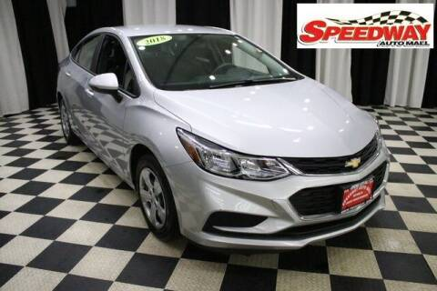2018 Chevrolet Cruze for sale at SPEEDWAY AUTO MALL INC in Machesney Park IL