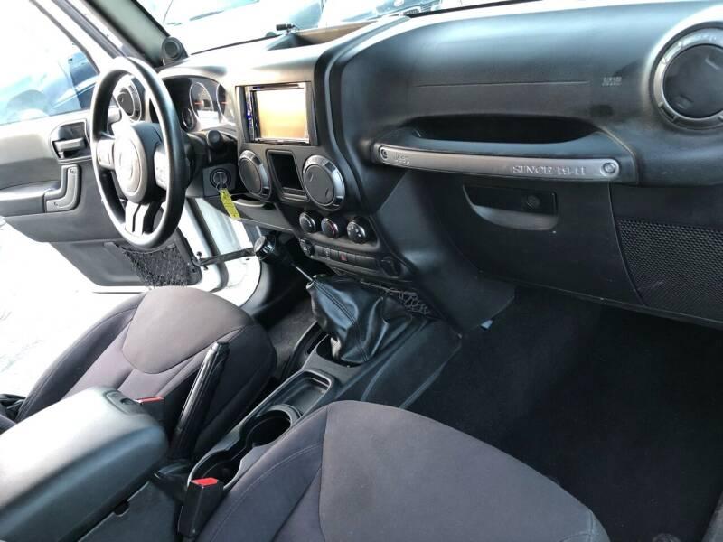 2014 Jeep Wrangler 4x4 Sport 2dr SUV - El Cerrito CA
