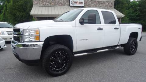 2013 Chevrolet Silverado 2500HD for sale at Driven Pre-Owned in Lenoir NC