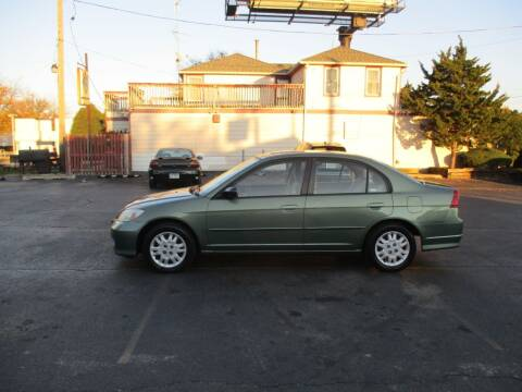 2004 Honda Civic for sale at KEY USED CARS LTD in Crystal Lake IL