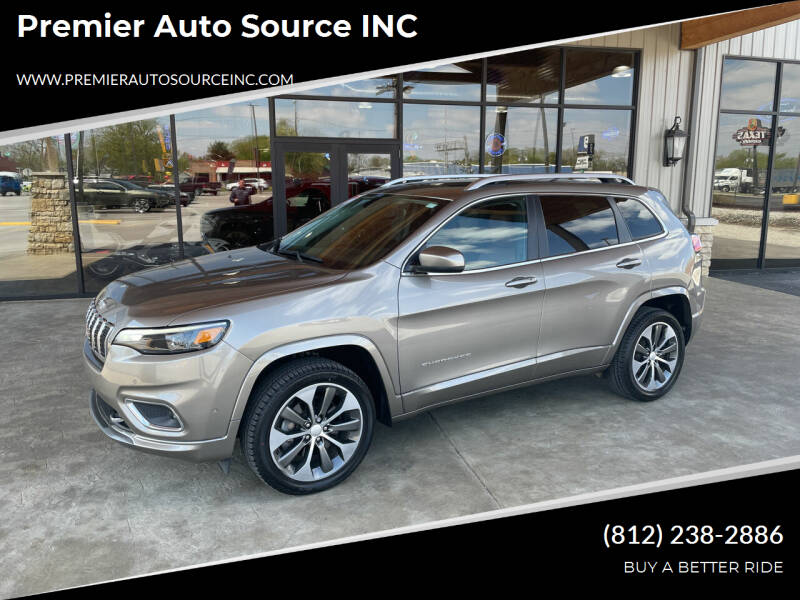 2019 Jeep Cherokee for sale at Premier Auto Source INC in Terre Haute IN