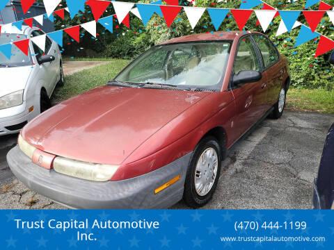 1998 Saturn S-Series for sale at Trust Capital Automotive Inc. in Covington GA