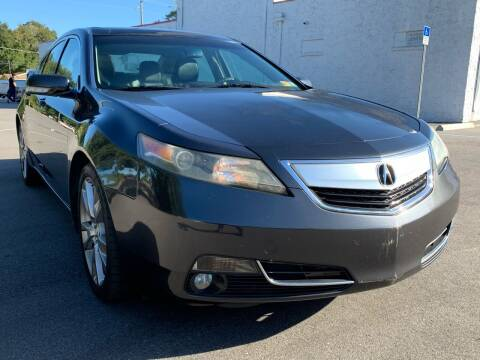 2012 Acura TL for sale at Consumer Auto Credit in Tampa FL