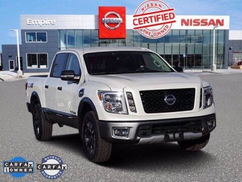2017 Nissan Titan for sale at EMPIRE LAKEWOOD NISSAN in Lakewood CO