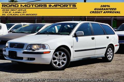 2002 Volvo V40 for sale at Road Motors Imports in El Cajon CA