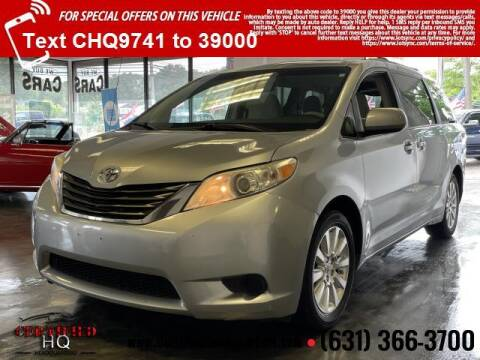 2011 Toyota Sienna for sale at CERTIFIED HEADQUARTERS in Saint James NY