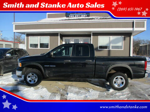 2005 Dodge Ram Pickup 1500 for sale at Smith and Stanke Auto Sales in Sturgis MI