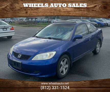 2004 Honda Civic for sale at Wheels Auto Sales in Bloomington IN