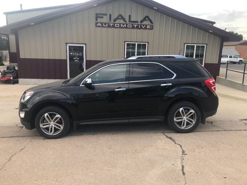 2017 Chevrolet Equinox for sale at Fiala Automotive in Howells NE