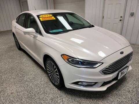 2017 Ford Fusion for sale at LaFleur Auto Sales in North Sioux City SD