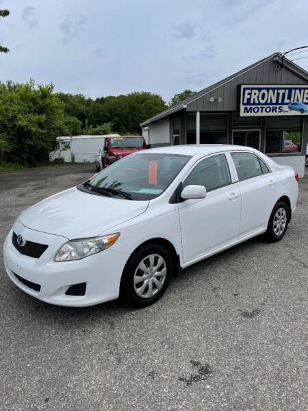 2010 Toyota Corolla for sale at Frontline Motors Inc in Chicopee MA