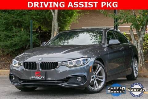 2019 BMW 4 Series for sale at Gravity Autos Atlanta in Atlanta GA