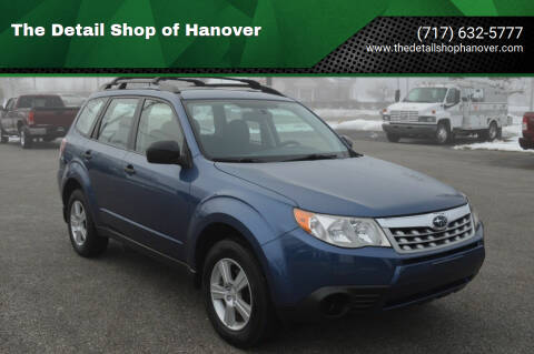 2011 Subaru Forester for sale at The Detail Shop of Hanover in New Oxford PA